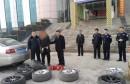 渭南城区系列盗窃汽车轮胎案成功告破