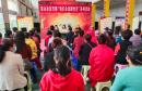韩城市金城办象山社区开展主题党日活动——我们永远跟党走