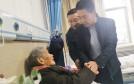 渭南市民政局慰问中国人民志愿军老战士李福成