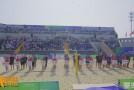 【全运渭南】十四运沙滩排球项目测试赛激战沙苑湖畔