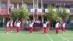 我市各中小学第一次升旗仪式 迎接新学期的到来