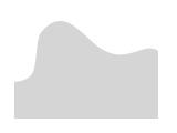 晚霞中的西岳華山