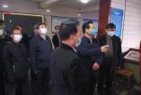 合阳县县长邓宽社  检查安全生产和森林防灭火工作