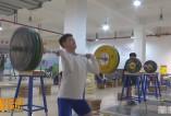 【体育新闻】科学训练 全力以赴 渭南市体校举重队备战省十七运会预选赛