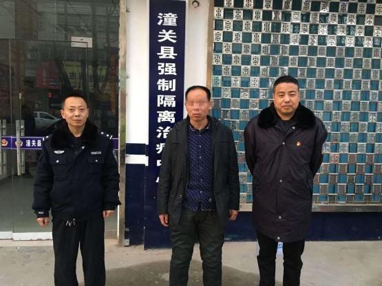 渭南潼关:阻碍交警执法 被依法拘留