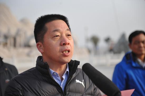 华山景区党工委委员张永江致辞