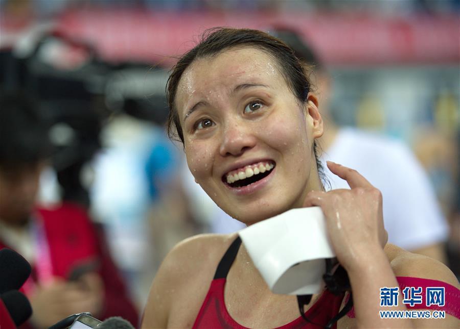 (体育)(8)游泳——傅园慧无缘2018全国冠军赛女子200米仰泳决赛