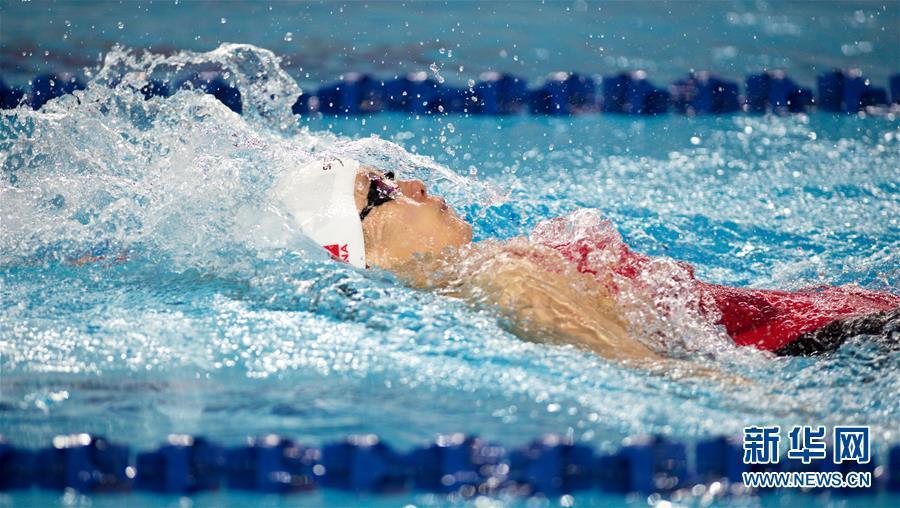 (体育)(3)游泳——傅园慧无缘2018全国冠军赛女子200米仰泳决赛