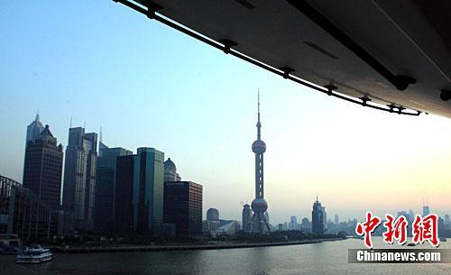 资料图:上海的江边建筑。<a target='_blank' href='http://www.chinanews.com/'>中新社</a>记者 潘索菲 摄