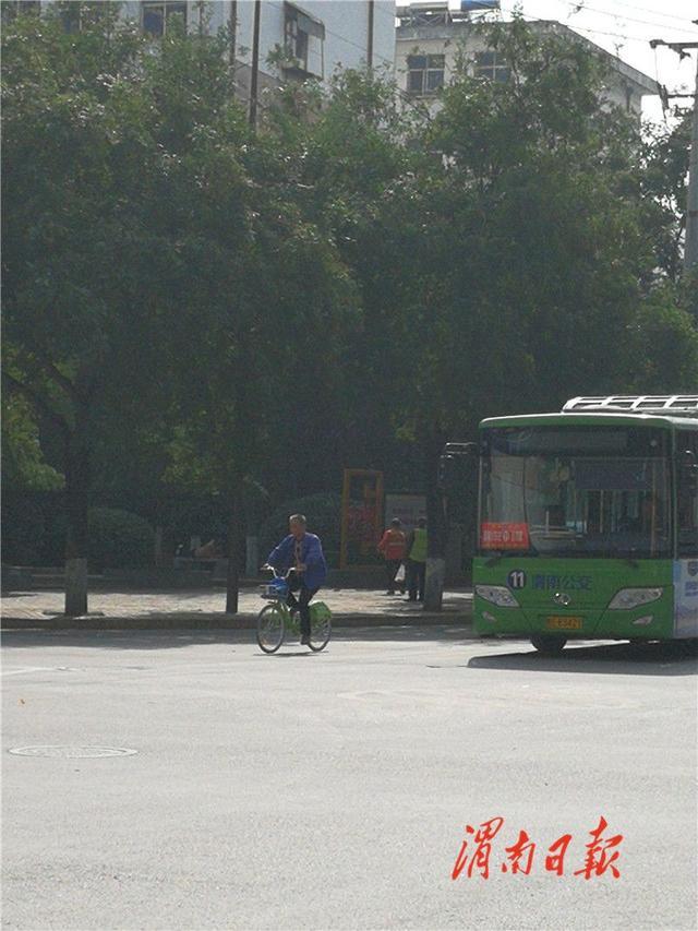 渭南城区6条公交线路调整为冬季运营时间