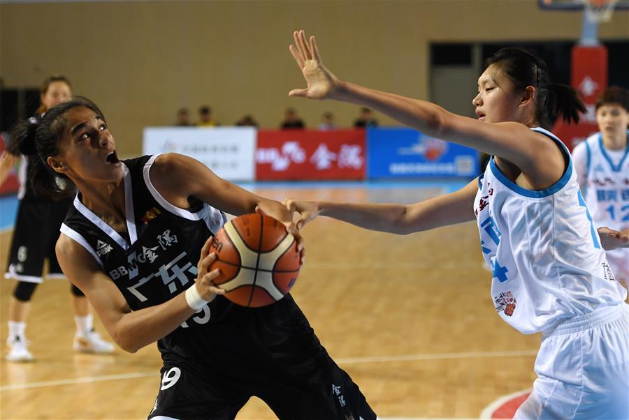 (体育)(2)篮球——WCBA:陕西天泽体彩不敌东莞新彤盛