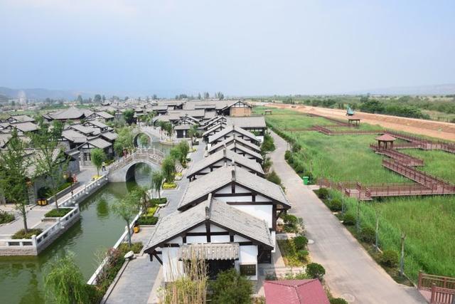 洽川景区迎来今年首个客流高峰 日均接待游客6000余人
