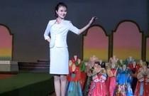 朝鲜时装秀重现60年代风格