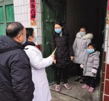 """渭南:各级党员干部正奋战在战""""疫""""第一线"""