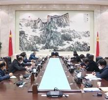 渭南市召开应对新型冠状病毒感染肺炎疫情工作领导小组会议