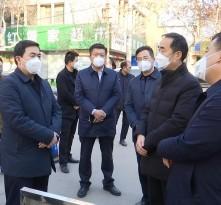 刘宝琳检查城区疫情防控工作措施落实情况