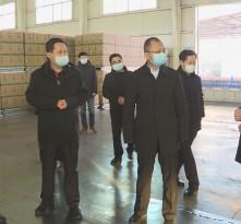 《战疫情 渭南在行动》王晓军检查粮油生产和物资保障供应储备情况