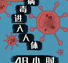 病毒进入体内的48小时