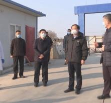 《战疫情 渭南在行动》罗书葵检查渭南北水厂疫情防控工作