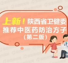 图解 上新!陕西省卫健委推荐中医药防治方子(第二版)