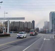 临渭区环卫局  关于对中心城区消毒作业的公告