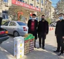 暖心!板桥镇爱心人士自发捐赠物资 助力抗击疫情!