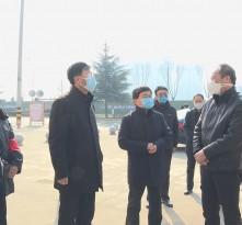 王瑞峰检查渭南城区校园疫情防控工作