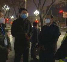高振鑫检查渭南中心城市夜间消杀工作