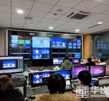 """渭南广播电视台融媒直播助力""""战疫"""""""
