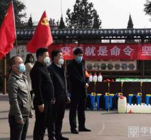 韩城市龙门镇:听党话 跟党走 小身板扛起大责任