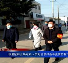 临渭区林业局组织人员到包联村指导疫情防控工作