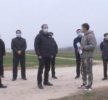 王瑞峰赴华州区调研农村防疫和春季农业生产工作