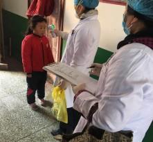 【战疫情 渭南力量】华州区高塘镇:全民抗疫  一次全民体温大测量