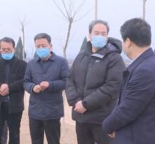 王瑞峰赴合阳县调研农业生产和脱贫攻坚工作