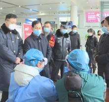 杨武民检查新冠肺炎疫情防控工作