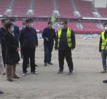 第十四届全运会渭南场馆建设项目有序复工
