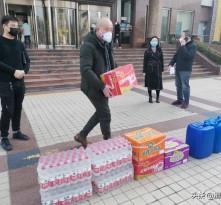 爱心企业为渭南广播电视台捐赠防疫物资