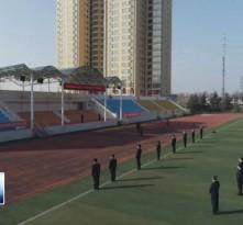 渭南高级中学举行线上升旗仪式 校长开学第一讲
