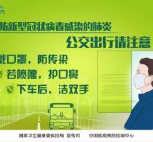 《预防新型冠状病毒感染的肺炎 请您注意》系列海报来了!