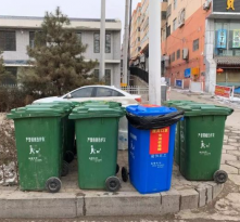 好消息!榆林市榆阳城区新增600多个废弃口罩专用收集桶