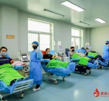 """渭南:无偿献血凝聚战""""疫""""力量"""