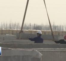 大荔县市级重点项目牧原12场正式复工建设
