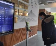 """测温登记3秒完成 杭州一中学将启用复学""""黑科技"""""""