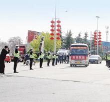 渭南高新区援鄂医疗队队员回家了