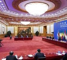习近平主持中非团结抗疫特别峰会并发表主旨讲话
