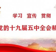 渭南市各级各部门深入学习贯彻党的十九届五中全会精神