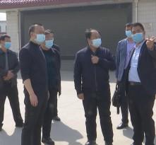 陕西省民政厅督导组来渭检查疫情防控和清明祭扫工作