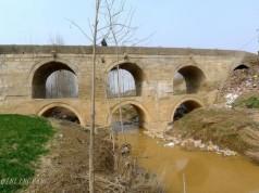 渭南华县边界赤水河上桥上桥