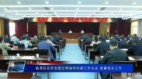 临渭区召开全国文明城市创建工作会议 部署相关工作