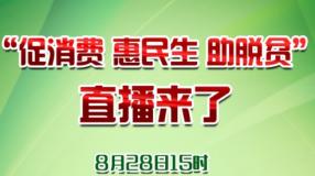 """渭南:""""促消费 惠民生 助脱贫""""直播来了"""